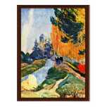 Les Alyscamps By Gauguin Paul (Best Quality) Postcard