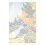 Les Alyscamps By Gauguin Paul (Best Quality) Stationery Design