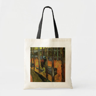 Les Alyscamps (Cemetery) by Vincent van Gogh Tote Bags