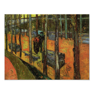 Les Alyscamps (Cemetery) by Vincent van Gogh Card