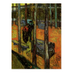 Les Alyscamps (Cemetery) by Vincent van Gogh Post Cards