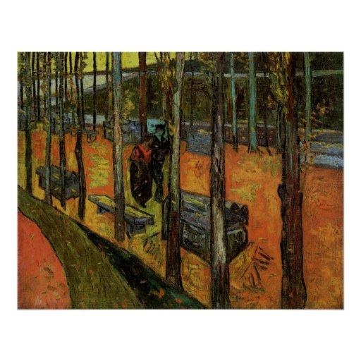 Les Alyscamps (Cemetery) by Vincent van Gogh Posters