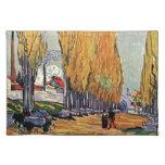 Les Alyscamps de Van Gogh. Paisaje del otoño Mantel