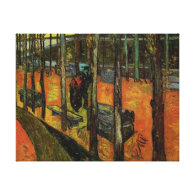 Les Alyscamps,Vincent van Gogh Gallery Wrapped Canvas