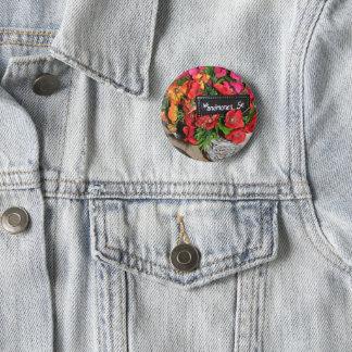 Les Anemones Button