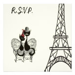 Les Aristochats Noirs - french passion 2 Invitations
