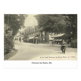 Les Bains, Ain, Francia de Divonne Tarjeta Postal