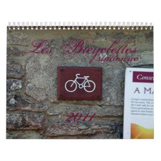 Les Bicyclettes 2011 calendar