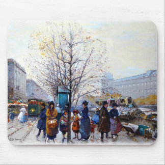 Les Bouquinistes(The Booksellers) Mouse Pad