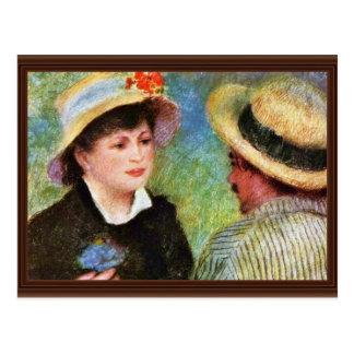 Les Canotiers By Pierre-Auguste Renoir Postcards