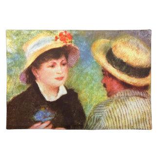 Les Canotiers by Pierre Renoir Placemats