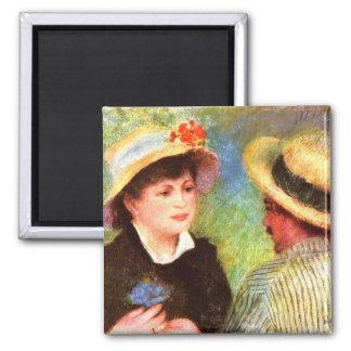 Les Canotiers de Pedro Renoir Imanes Para Frigoríficos