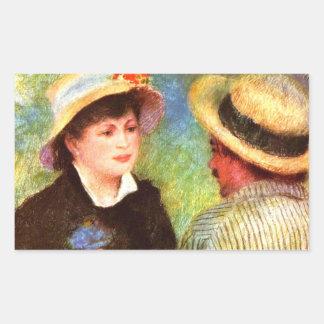 Les Canotiers de Pedro Renoir Pegatina