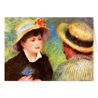 Les Canotiers de Pedro Renoir Tarjeton