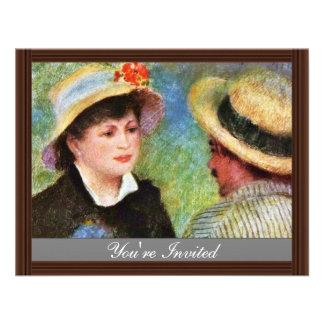 Les Canotiers de Pierre-Auguste Renoir Anuncios