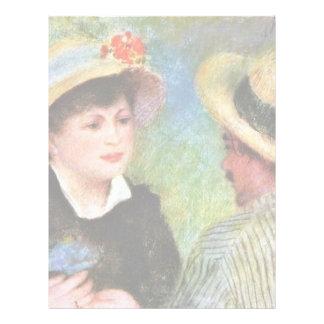 Les Canotiers de Pierre-Auguste Renoir Membretes Personalizados