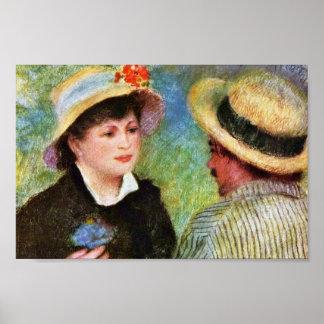 Les Canotiers de Pierre-Auguste Renoir Posters