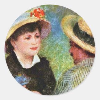 Les Canotiers de Pierre-Auguste Renoir Pegatinas