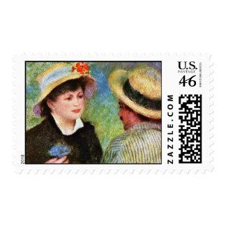 Les Canotiers de Pierre-Auguste Renoir Franqueo