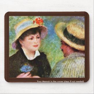 Les Canotiers de Pierre-Auguste Renoir Alfombrilla De Raton