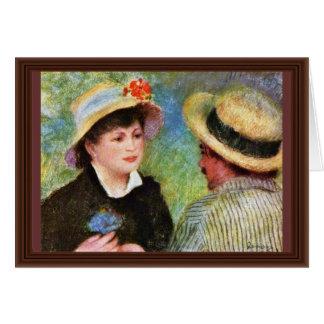Les Canotiers de Pierre-Auguste Renoir Tarjetas