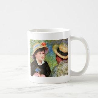 Les Canotiers de Pierre-Auguste Renoir Taza