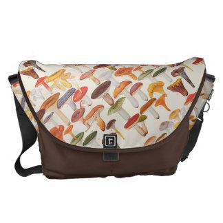 Les Champignons Mushrooms Messenger Bag