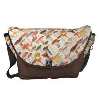 Les Champignons Mushrooms Courier Bag