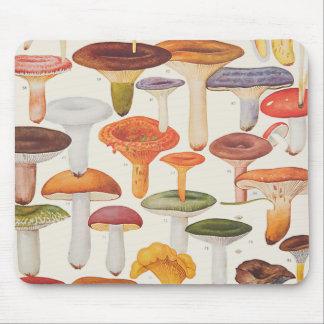 Les Champignons Mushrooms Mouse Pad
