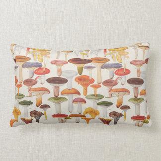 Les Champignons (Mushrooms) Throw Pillow