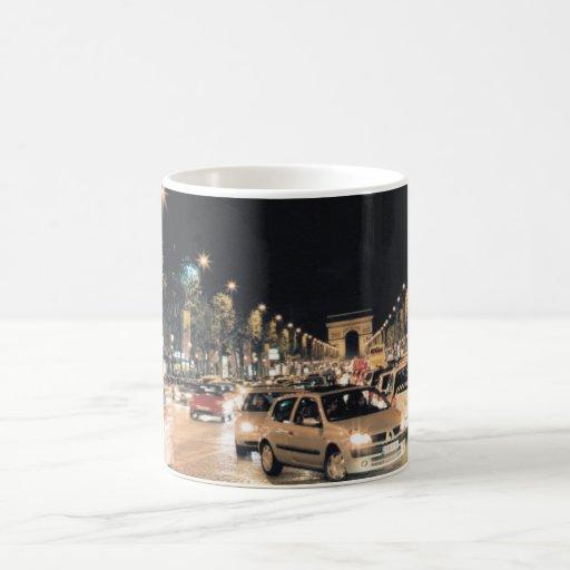 Les Champs-Elysées Coffee Mugs