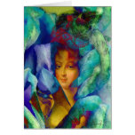 Les Charmeuses: Marie Antoinette Portrait Card