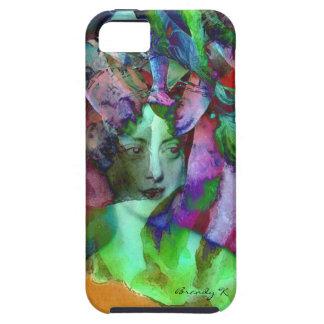 Les Charmeuses Marie Caroline Artsy Portrait iPhone SE/5/5s Case