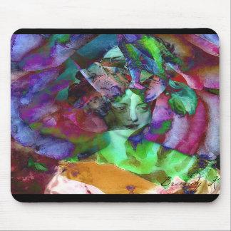 Les Charmeuses: Marie-Caroline Portrait Mousepad