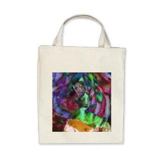 Les Charmeuses: Marie-Caroline Portrait Tote Bags