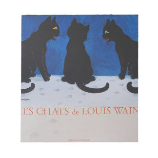 Les Chats de Louis Wain Notepad