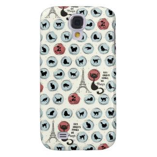 Les Chats Noirs de Paris HTC Case Samsung Galaxy S4 Covers