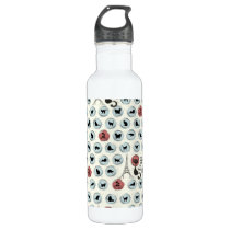 Les Chats Noirs de Paris Water Bottle