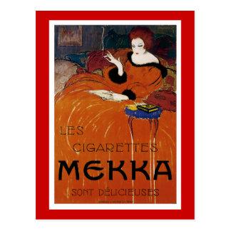 Les Cigarettes Mekka Postcard