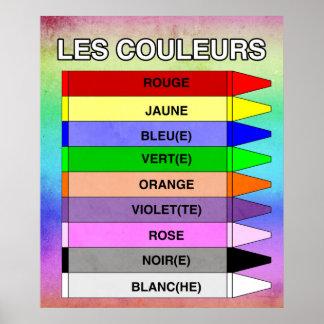 Les Couleurs (The Colors) Poster