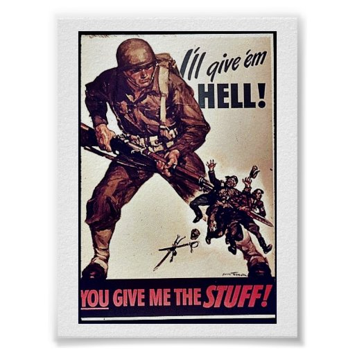 ¡Les daré infierno! Posters