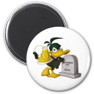Les Dead Ducks - Magnet/Aimant 2 Inch Round Magnet