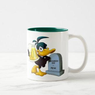 Les Dead Ducks - Mug/Tasse Two-Tone Mug