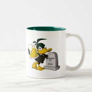 Les Dead Ducks - Mug/Tasse Two-Tone Coffee Mug