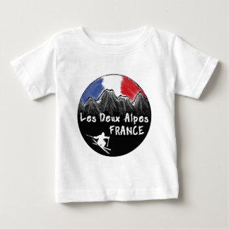 Les Deux Alpes France skier Baby T-Shirt
