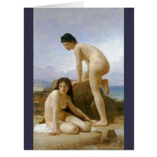 Les Deux Baigneuses 1884 Card