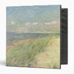 "Les Dunes du Zwin, Knokke, 1887 (aceite en lona) Carpeta 1 1/2"""