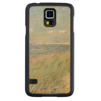 Les Dunes du Zwin, Knokke, 1887 (oil on canvas) Carved® Maple Galaxy S5 Case