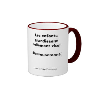 Les enfants grandissent... coffee mugs