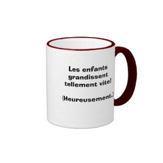Les enfants grandissent... coffee mug